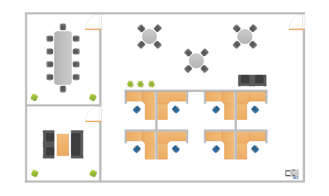create floor plan u0026 collaborate cacoo