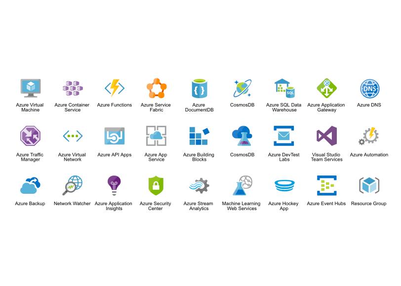Azure Icons | CacooCacoo