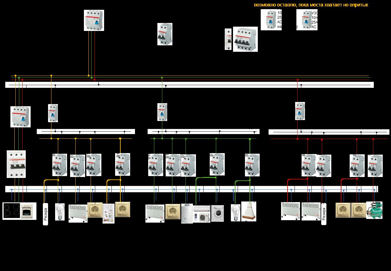 Однолинейная схема 3 фазы фото 634