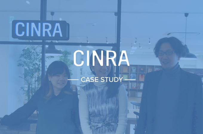 How CINRA creates a seamless feedback loop and stays organized with Cacoo