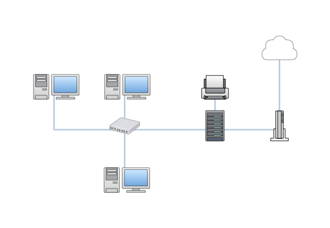 [DIAGRAM_4FR]  Network diagrams guide | Cacoo | Wireless Network Diagram Computer Room |  | Cacoo