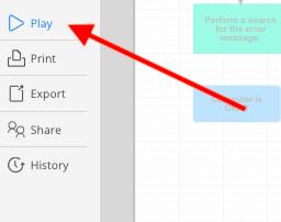 New Cacoo Editor - Presentation Mode