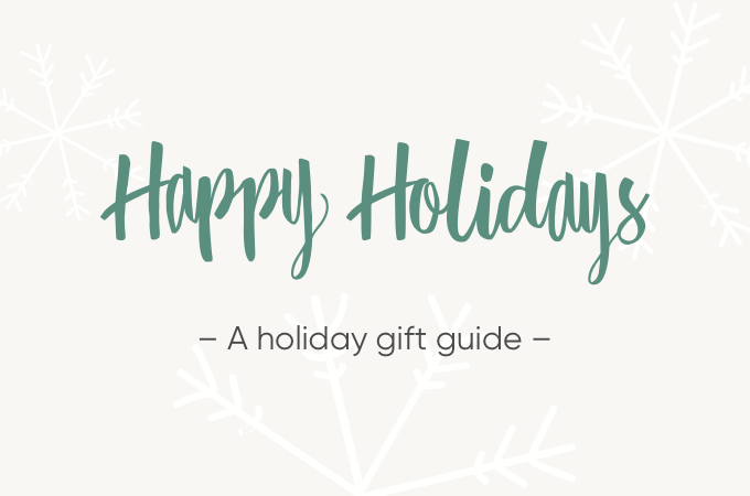 A holiday gift guide: flowchart style