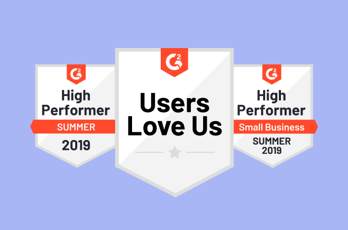 Cacoo is a G2 High Performer for Summer 2019!