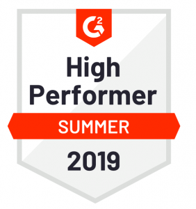 High Performer - Summer 2019