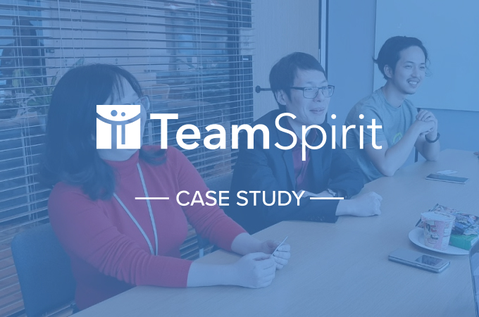 TeamSpirit uses Cacoo to visualize and communicate developer workflows