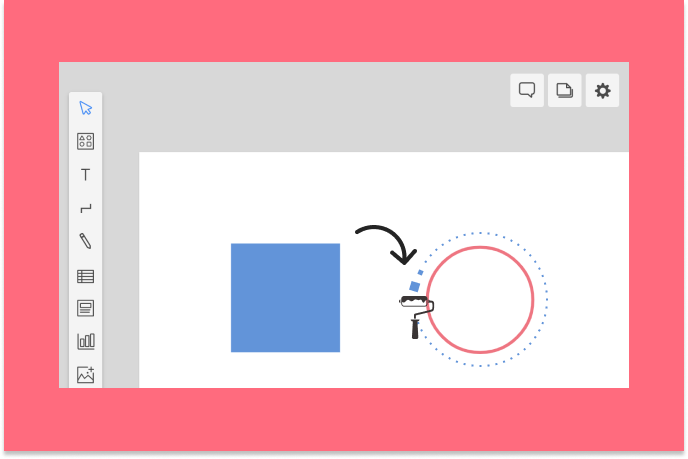 Styling your diagrams is easy with Copy Style