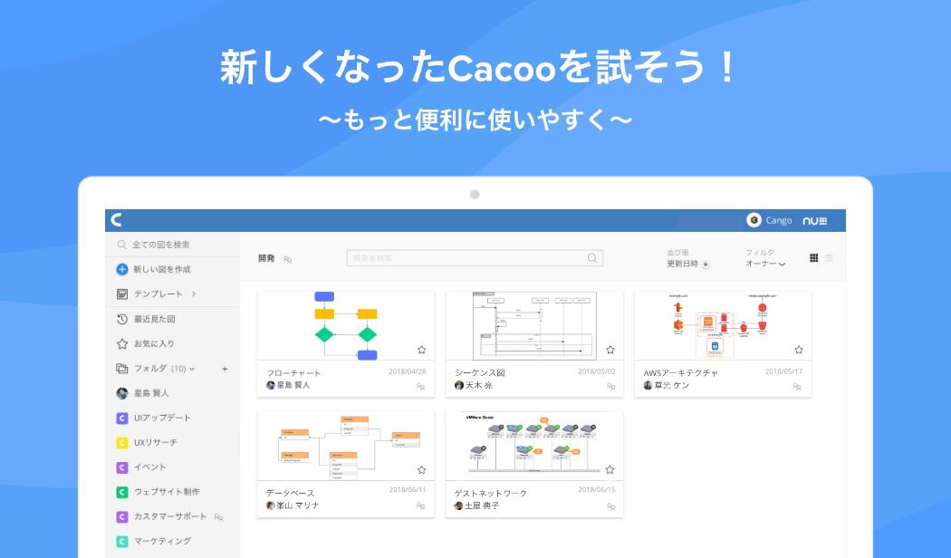 cacoo-renewal-ui