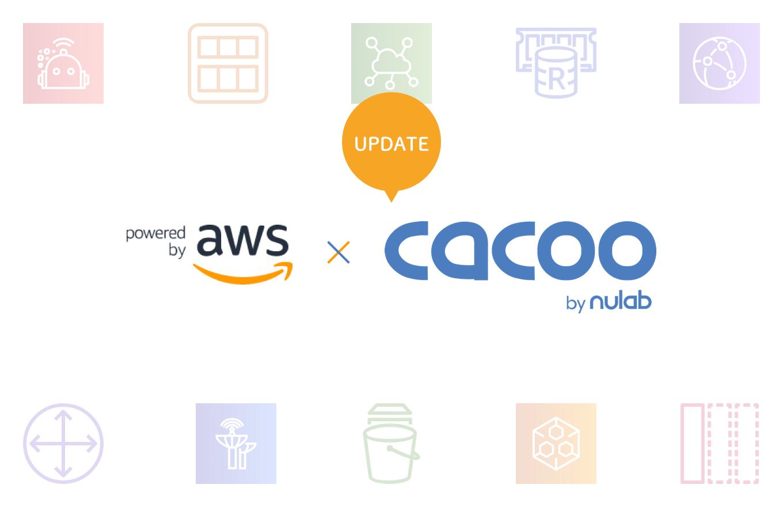 AWSの最新アイコンをCacooのステンシルでもご利用いただけます!