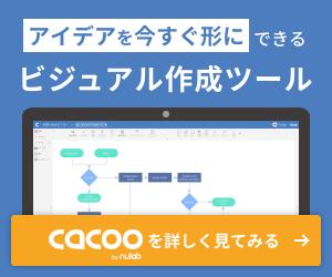 フローチャートやワイヤーフレーム、プレゼン資料まで作れる | Cacoo(カクー)